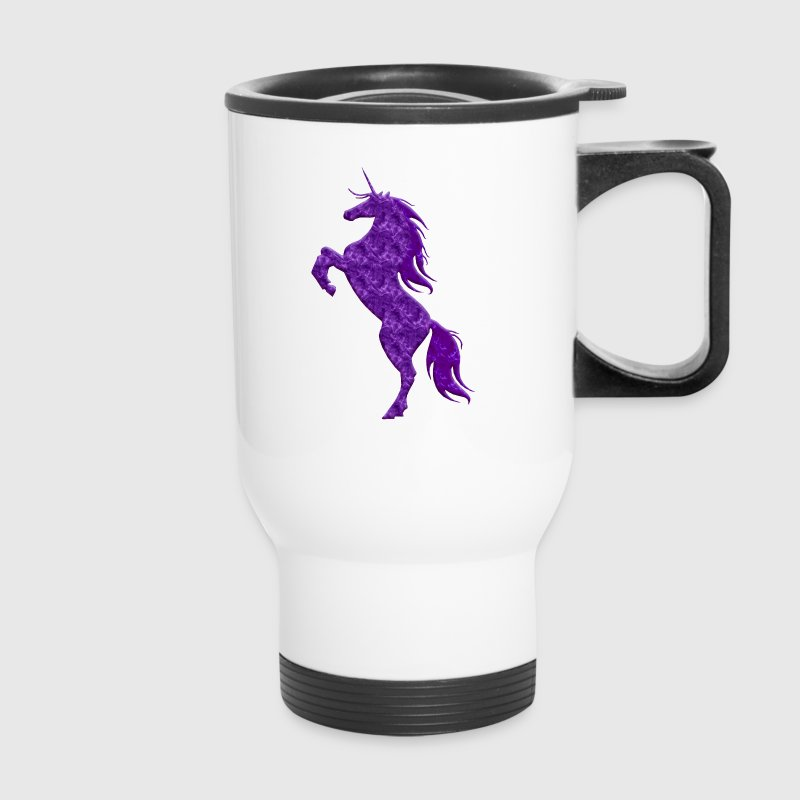 Purple Unicorn - Travel Mug