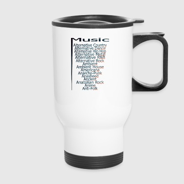 Music from A Z part3 - Travel Mug