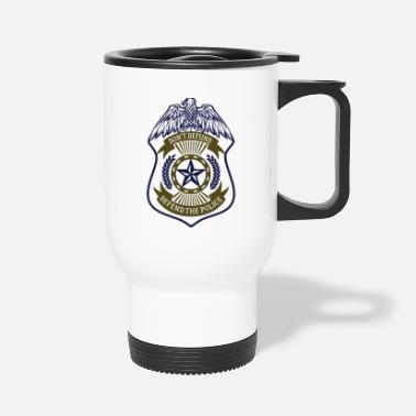 Don't Defund - Defend the Police - Travel Mug