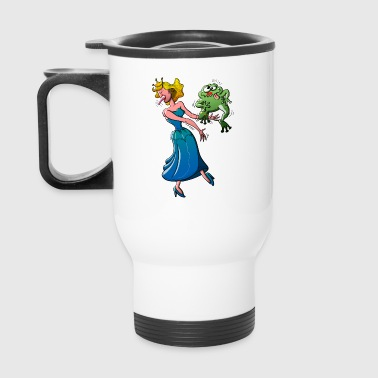 Disgusting Kiss for a Princess - Travel Mug