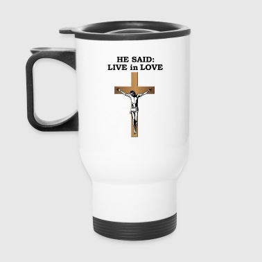 Crucifix - Travel Mug