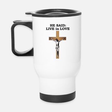 Crucifix Crucifix - Travel Mug