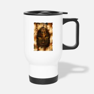 Ancient Egyptian TUTANKHMUN'S VISION - Travel Mug
