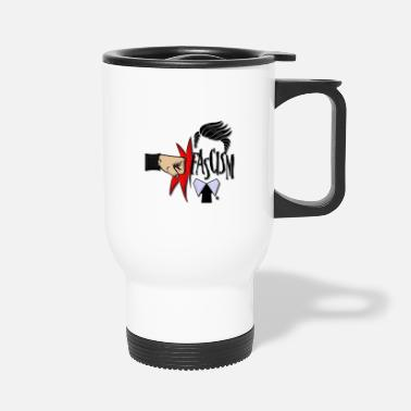 Fascism RIGHT IN THE FASCISM - Travel Mug