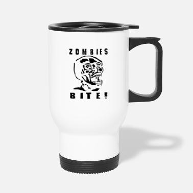 ZOMBIES BITE - Travel Mug