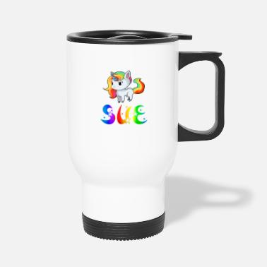 Sue Sue Unicorn - Travel Mug