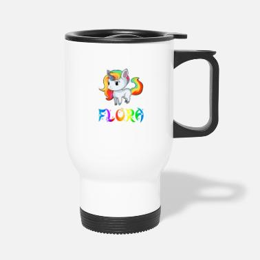 Flora Flora Unicorn - Travel Mug