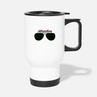Attractive Sunglass Attraction - Travel Mug