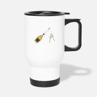 Vector Cheers vector - Travel Mug
