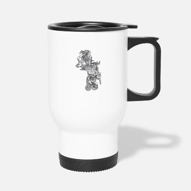 Ruler Quetzalcoatl - Travel Mug