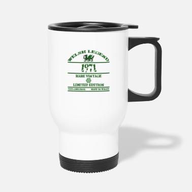 Rugby A Welsh Legend 1971 - Travel Mug