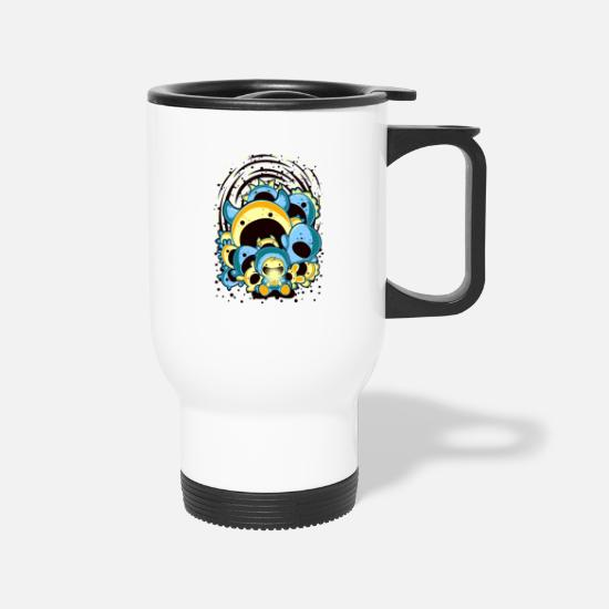 Game Mugs & Drinkware - child and monsters - Travel Mug white