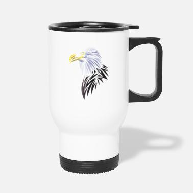 Tribal Tribal eagle - Travel Mug