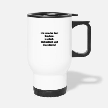 Language languages - Travel Mug