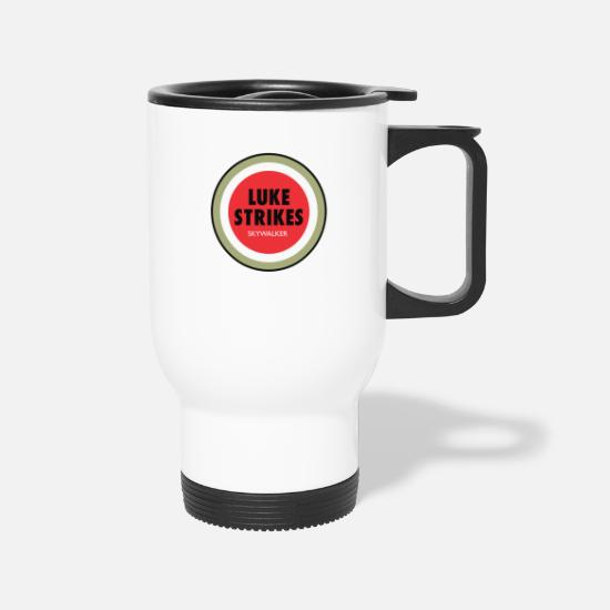 Game Mugs & Drinkware - Luke Strikes - Travel Mug white