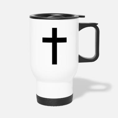 Tradition Traditional Cross - Travel Mug