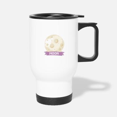 Rectangle Planet Moon Space gift - Travel Mug