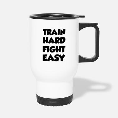 Judo train hard - Travel Mug