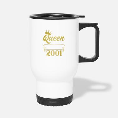 Awesome The Queen Reigning Since 2001 - Travel Mug