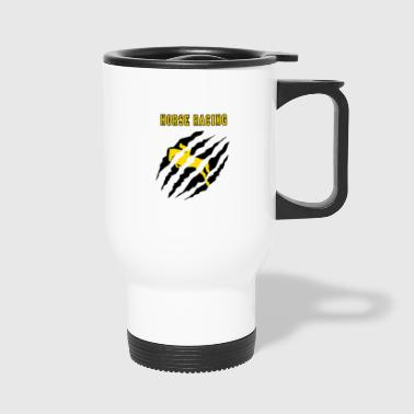 Horse Racing Horse Racing - Travel Mug