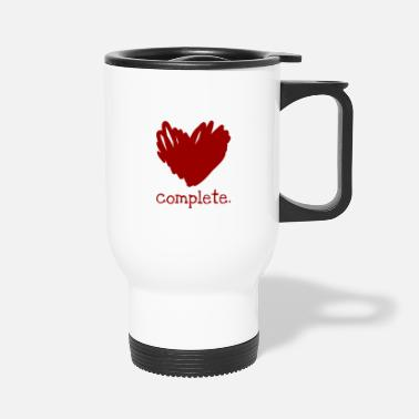 Comple. | Love Heart - Travel Mug