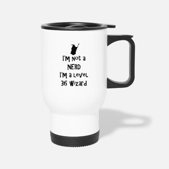 Nerd Mugs & Drinkware - Not a nerd - Travel Mug white