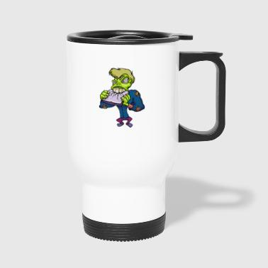 Monster cartoon character 14 - Travel Mug