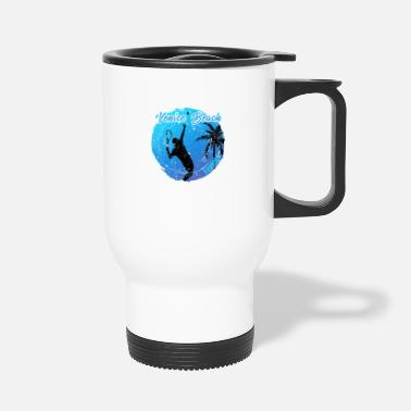 Skateboard Venice Beach Tennis - Travel Mug