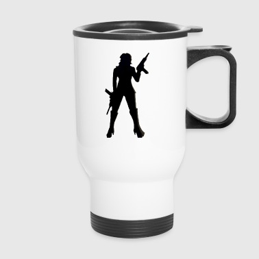 Uzi girl - Travel Mug