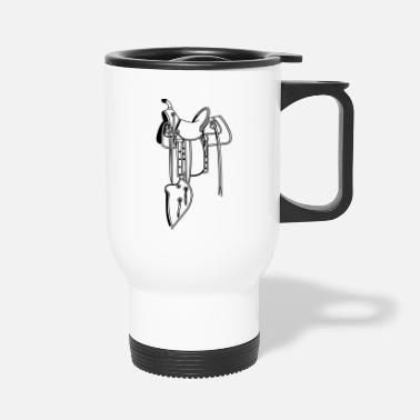Saddle Cowboy saddle - Travel Mug