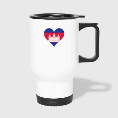 A Heart For Cambodia - Travel Mug