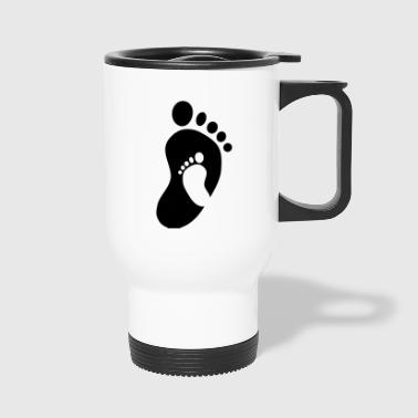 Baby Feet Baby Feet in Feet - Travel Mug