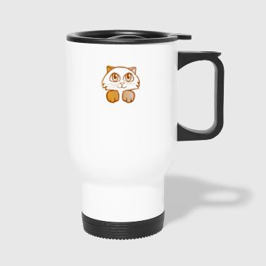 Kitten Illustration - Travel Mug