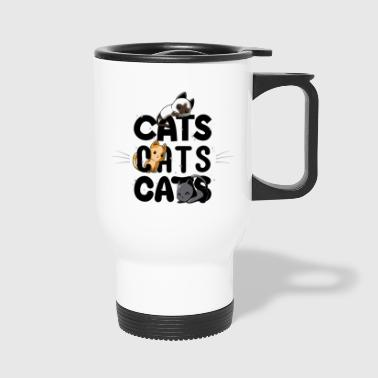 Cats Cats Cats - Travel Mug