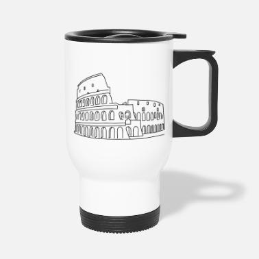 Rome Colosseum in Rome - Travel Mug