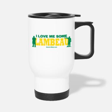 I Love Me Some Lambeau Kids' Shirts - Travel Mug