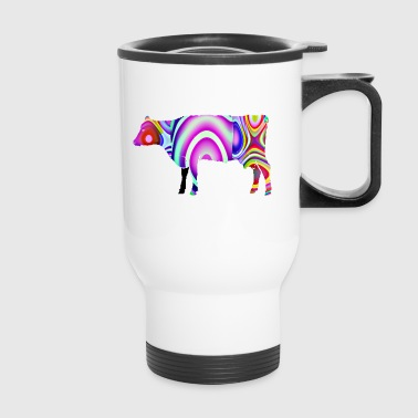 The cow - Travel Mug