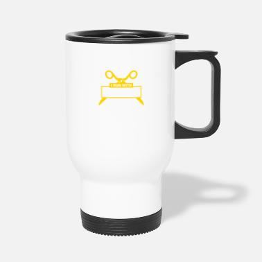 Movable I Run With Scissors It Makes Me Feel Dangerous! - Travel Mug