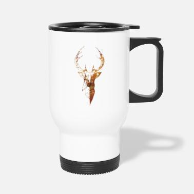 Deer Head Deer head - Travel Mug