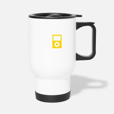 Mp3 IPod / MP3 Player - Travel Mug