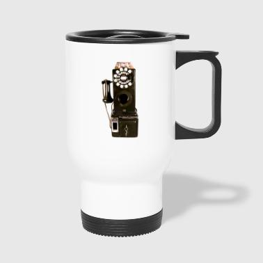 pay phone - Travel Mug