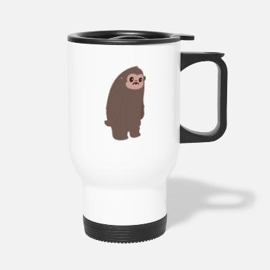 Clip Art Bigfoot - Travel Mug