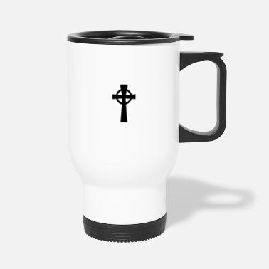 Celtic celtic cross - Travel Mug