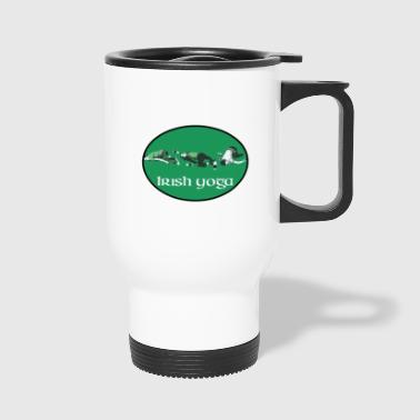 Yoga Irish Yoga - Travel Mug