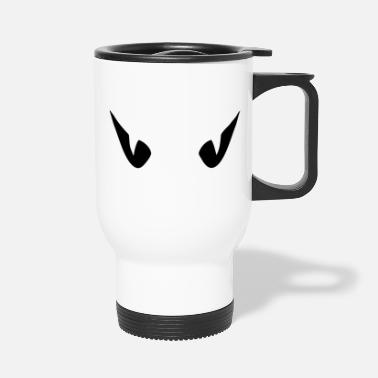 Goggley Eyes Evil Eye - Travel Mug
