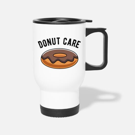 Birthday Mugs & Drinkware - Donut Care - Travel Mug white