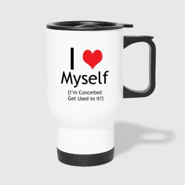 I (heart) Myself - Travel Mug