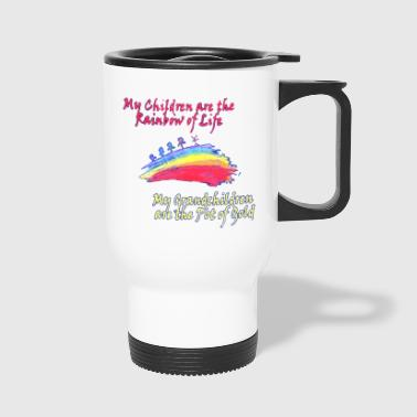 Grandkids are the Pot of Gold - Travel Mug