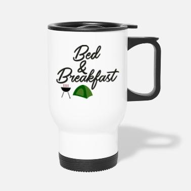 Bed Bed and Breakfast - Travel Mug