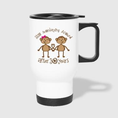 30th Anniversary Monkeying Around - Travel Mug